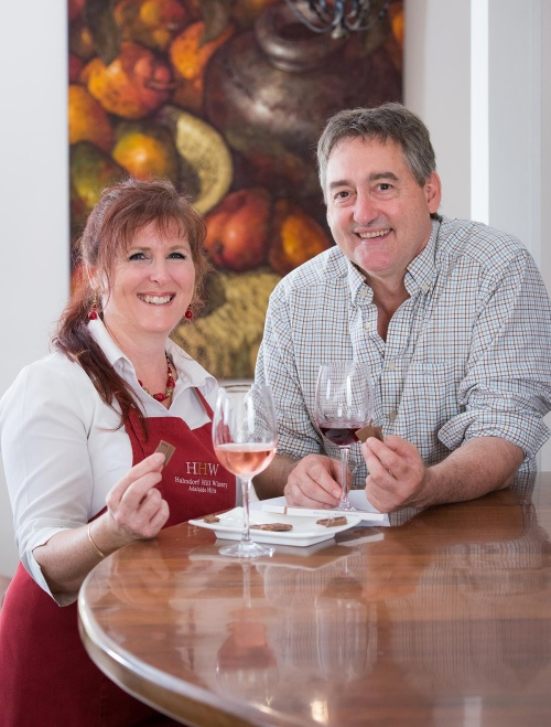 Hahndorf Hill matches its boutique wines to the worlds best chocolate